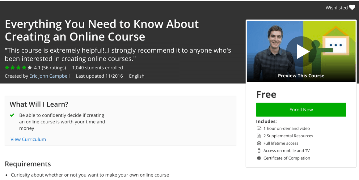 Everything You Need to Know About Creating an Online Course