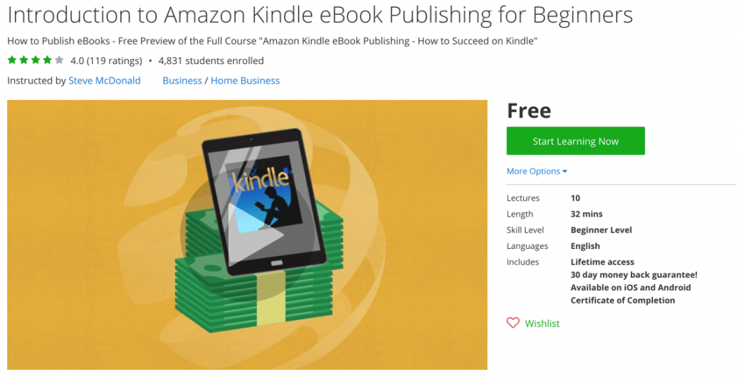 how to write and sell an ebook on amazon