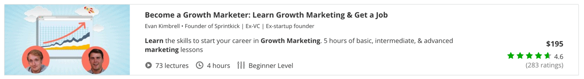 Become a Growth Marketer- Learn Growth Marketing & Get a Job