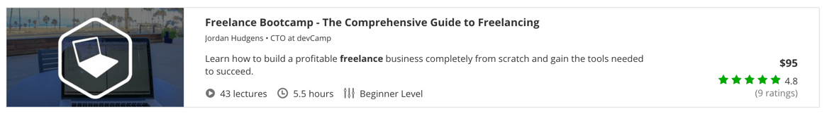 Freelance Bootcamp - The Comprehensive Guide to Freelancing