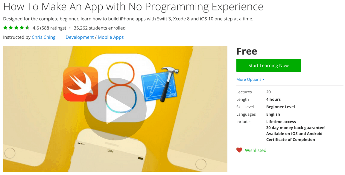 How To Make An App with No Programming Experience