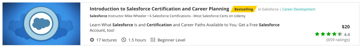 Introduction to Salesforce Certification and Career Planning