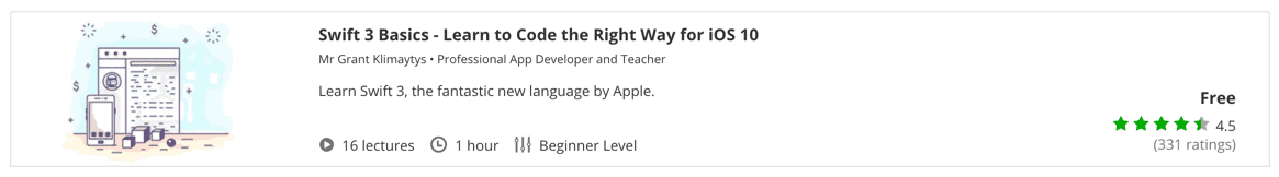 Swift 3 Basics - Learn to Code the Right Way for iOS 10